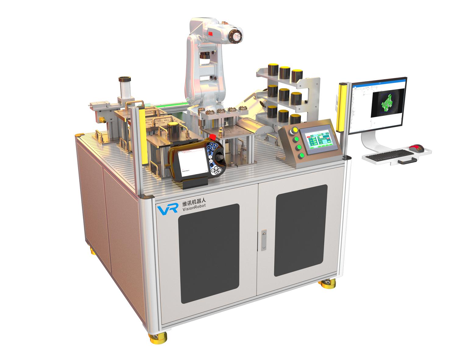 IRB120机器人示教与编程基础实验