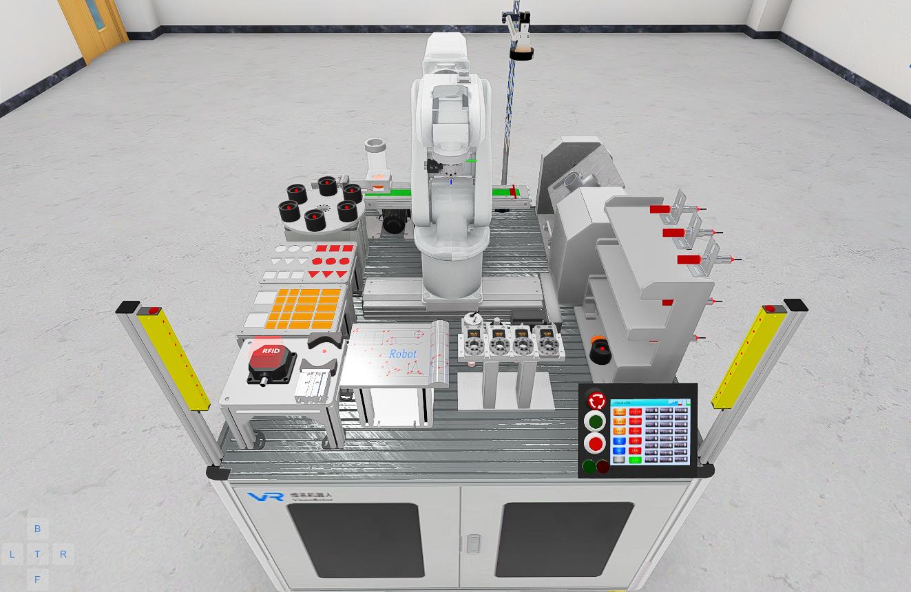 IRB120机器人示教与编程高级实验